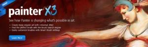 Painter X3 3D animation