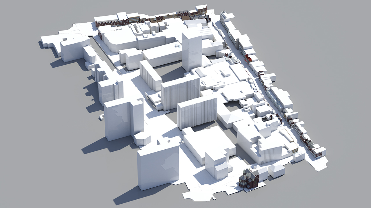 Architectural models using Cloud Rendering for your 3D Project