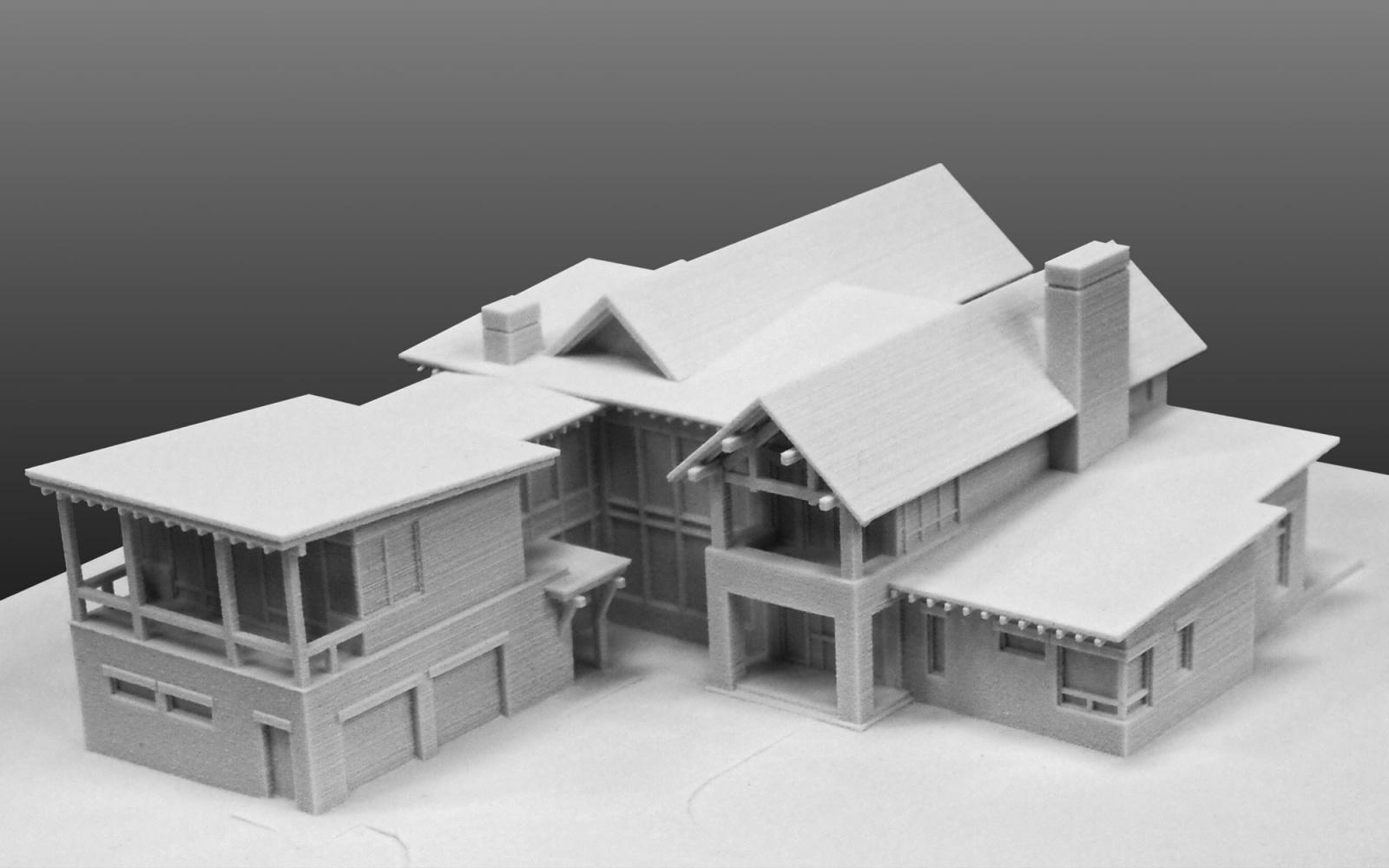 3d modeling - 3d Model Of House