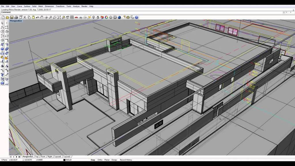 3D Visualization and Architectural model