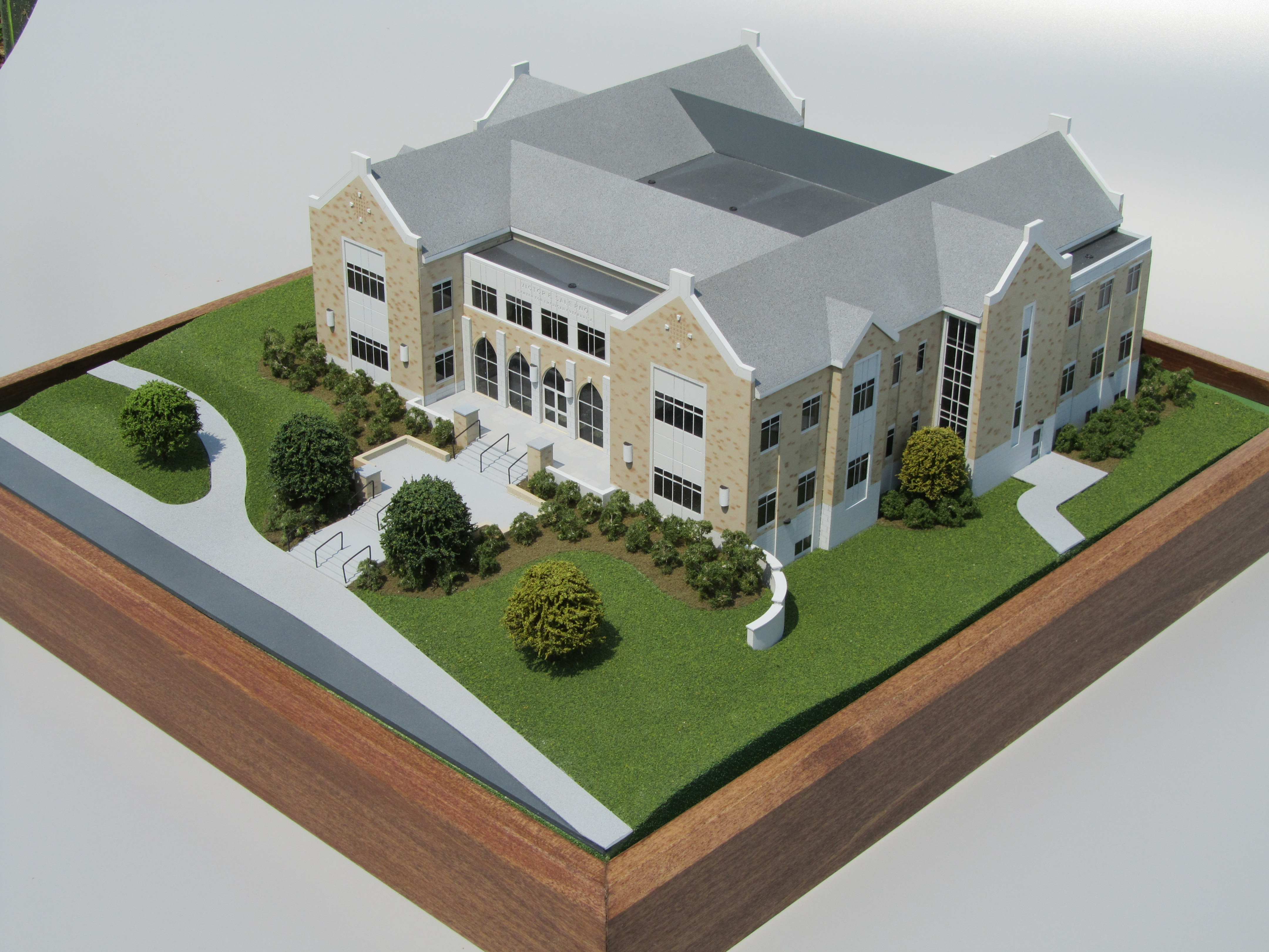 architectural building simple college wins customers 3d kiwimill